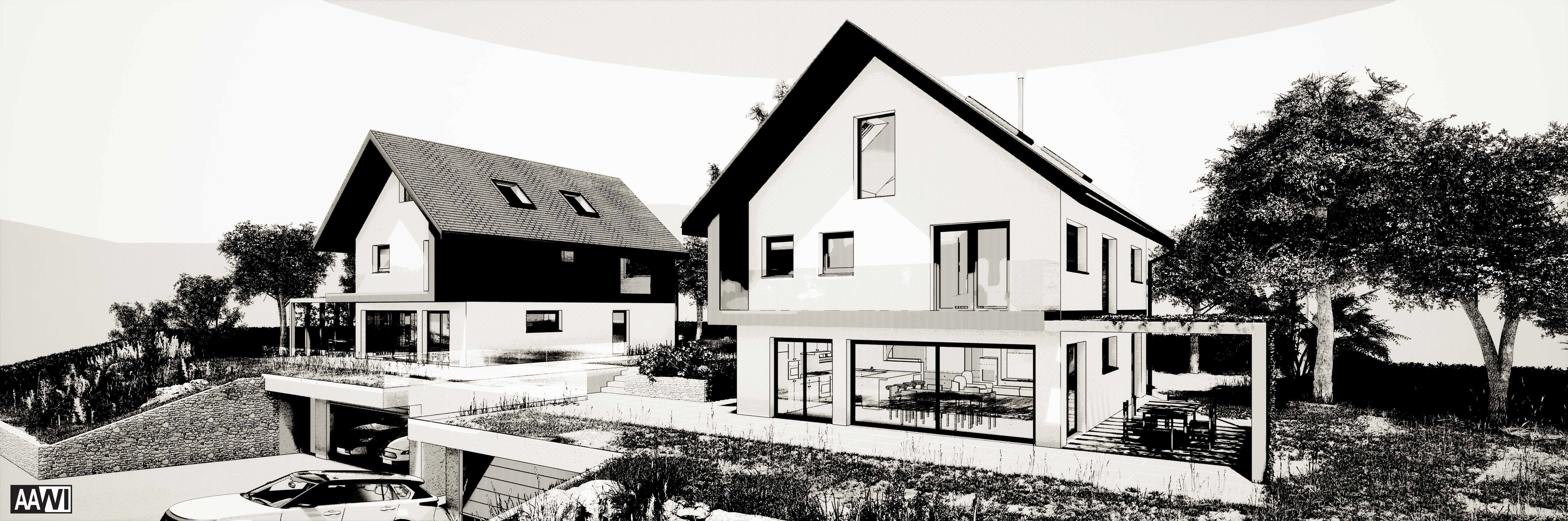 Villas jumelées