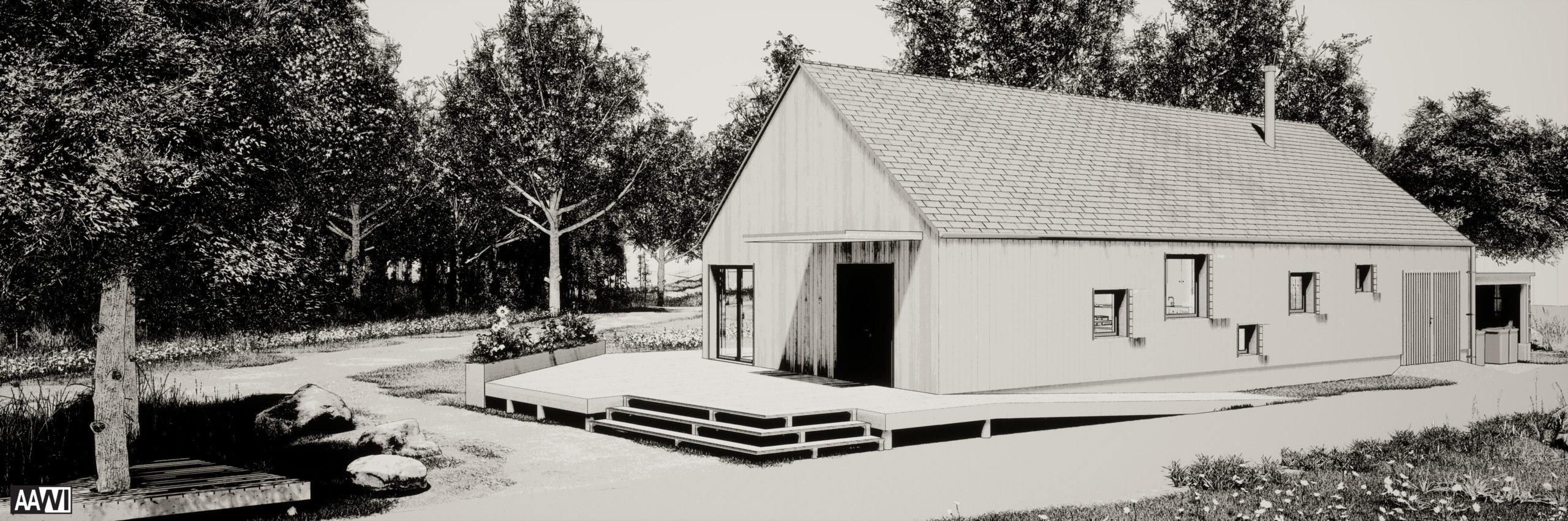 Pavillon de troupe